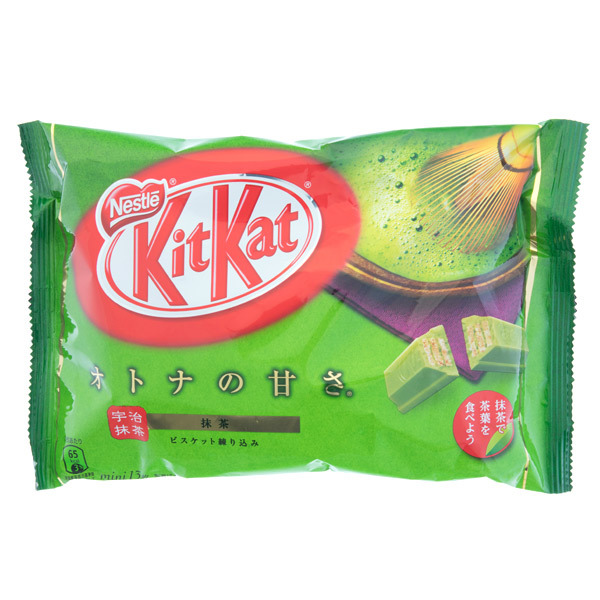 13807 nestle kitkat mini share pack   matcha green tea