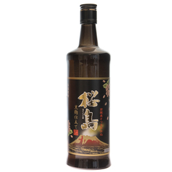 13803 sakurajima sweet potato kuro shochu