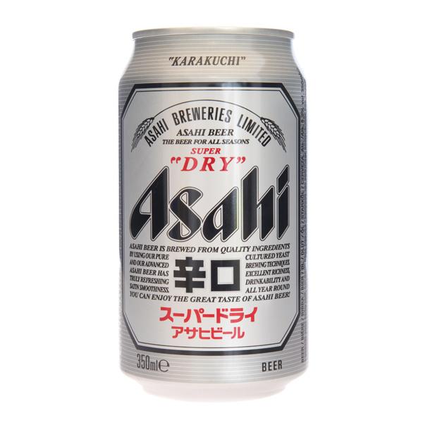 hyvä palvelu 100% aito yksityiskohtaisesti Asahi Super Dry Beer, 350 ml