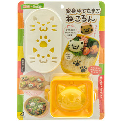 Japanese Lunch Box BENTO Moule Picks sauce CASE Furoshiki Mold Set de 6 kawaii
