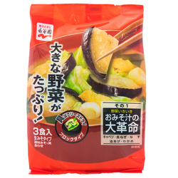 13894 nagatanien instant miso soup  freeze dried vegetables