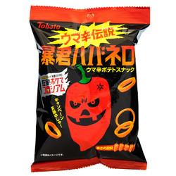 13928 tohato spicy potato rings