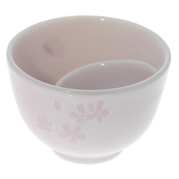 13965 ceramic sake ochoko cup pink swirl 2