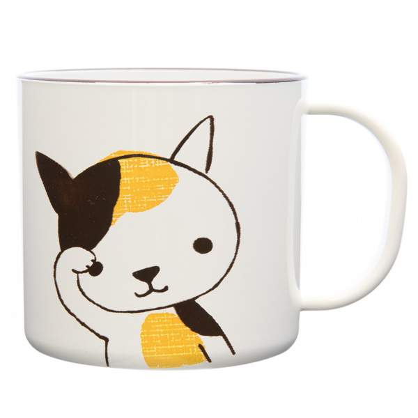 13970 hello animal plastic mug   cat design