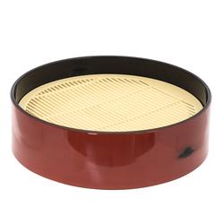 13987 plastic round zaru cold soba tray