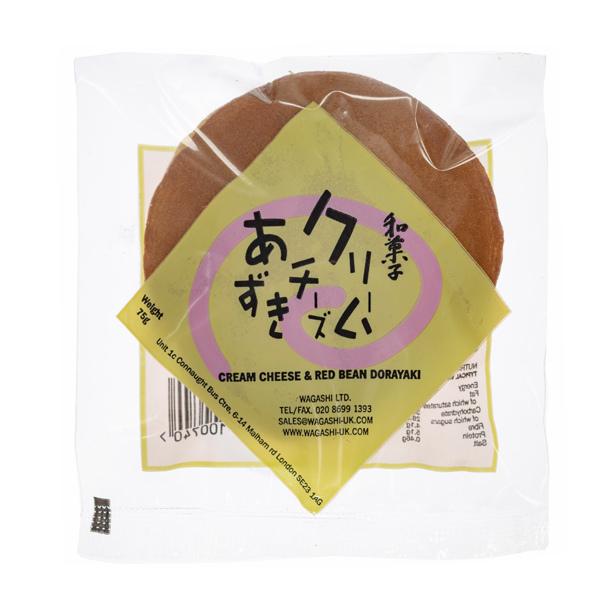 14039 wagashi cream cheese  azuki red bean dorayaki