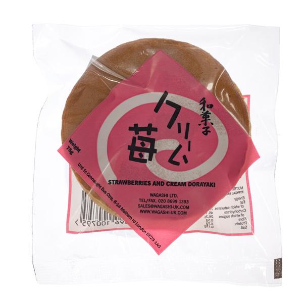 14043 wagashi strawberries   cream dorayaki