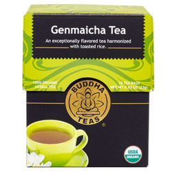 14015 buddha teas genmaicha brown rice tea