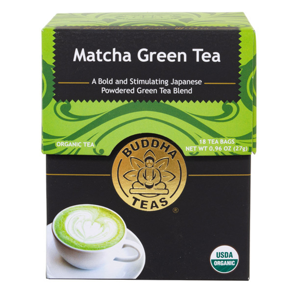 14021 buddha teas matcha sencha green tea blend