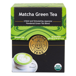 14021 buddha teas matcha sencha green tea blend