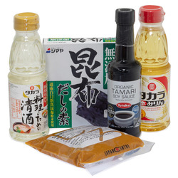14009 japanese cooking essentials starters set vegetarian