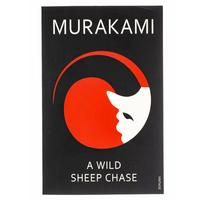 A Wild Sheep Chase by Haruki Murakami Book