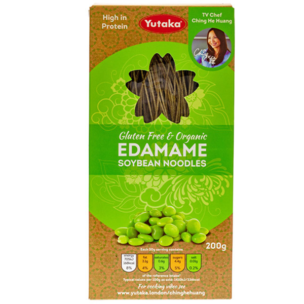 14084 yutaka gluten free and organic edamame soybean noodles
