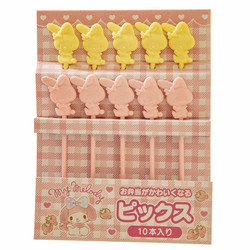14122 sanrio my melody shaped bento picks