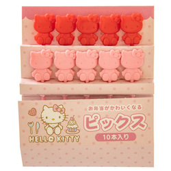 14123 sanrio hello kitty shaped bento picks