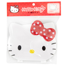 14126 sanrio hello kitty double folded mirror