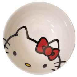 14163 sanrio hello kitty ceramic rice bowl 2