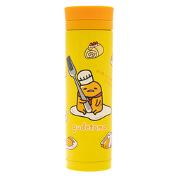 14152 sanrio gudetama stainless steel thermos flask