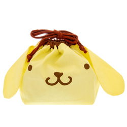 14129 sanrio pompompurin drawstring lunch bag