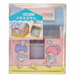14142 sanrio little twin stars memo and sticky notes set