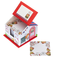 Sanrio Hello Kitty Memo and Sticky Notes with Holder