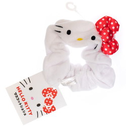 14154 sanrio hello kitty hair scrunchy