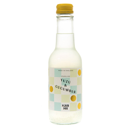14181 sansu drinks yuzu and cucumber sparkling juice drink