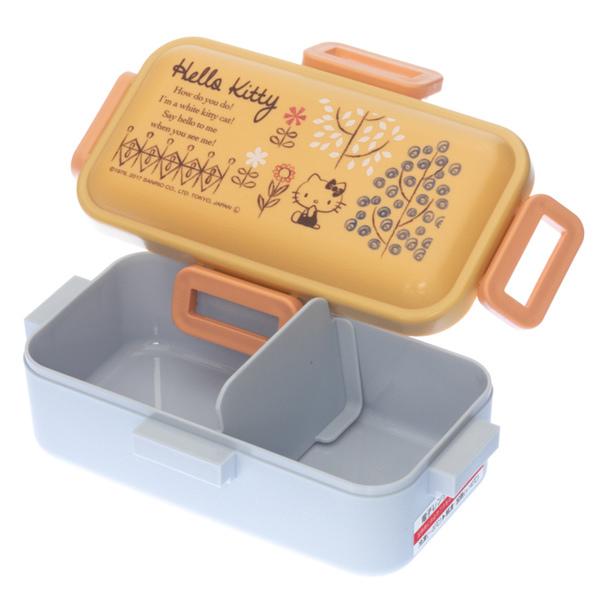 14191 sanrio hello kitty bento lunch box with clips