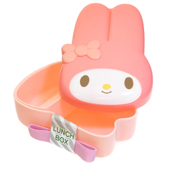 14165 sanrio my melody character shaped bento lunch box