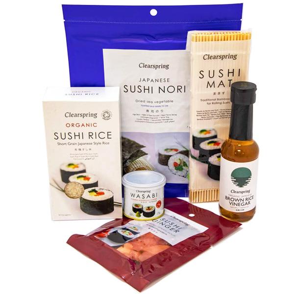 japan centre clearspring vegan sushi kit selection food kits. Black Bedroom Furniture Sets. Home Design Ideas