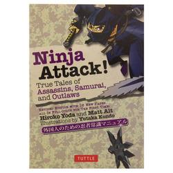 14203 ninja attack! true tales of assassins  samurai  and outlaws book