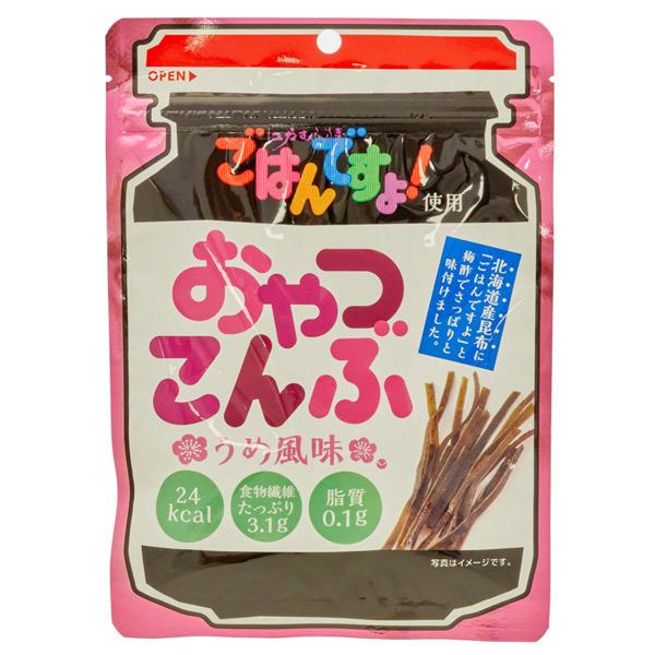 14226 sokan oyatsu konbu plum flavoured kelp sticks