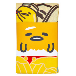 14293 gudetama treasure boat tea towel 2