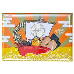 14297 gudetama treasure boat magnet
