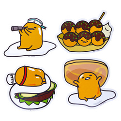 14300 gudetama sticker pack