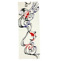 14273 nugoo tenugui tradidtional tapestry wall hanging towel