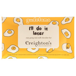14331 creighton's chocolaterie sanrio gudetama lazy egg mini milk chocolate bar