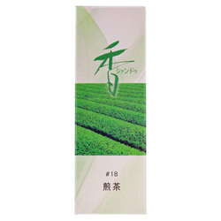 14316 xiang do sencha green tea incense  pack of 20