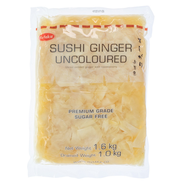 3935 large bag yutaka sushi ginger  catering size