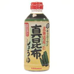 14338 kikkoman kombu kelp flavoured soy sauce