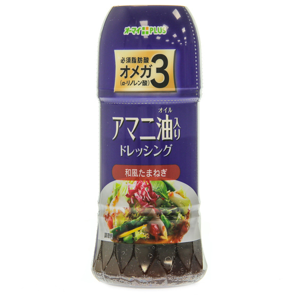14340 nippn ohmai soy  sauce and onion salad dressing  linseed oil