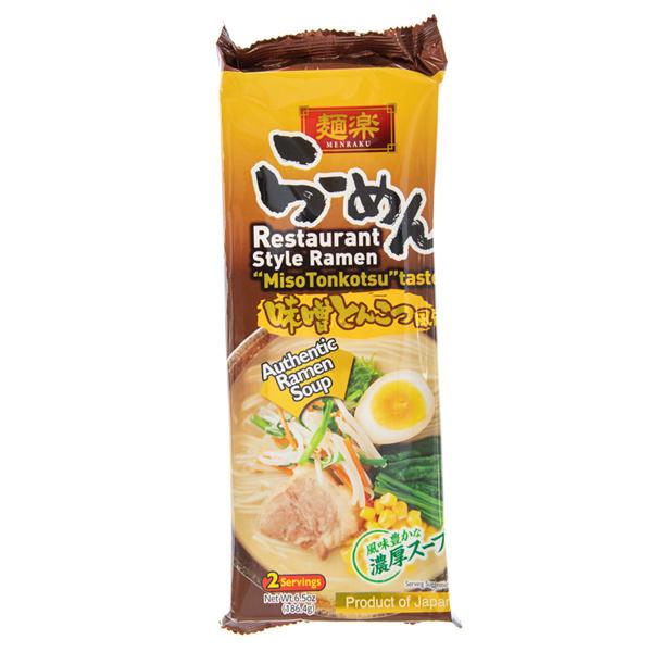 14342 hikari miso menraku vegetarianmiso tonkotsu ramen noodles