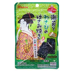 14346 kanro seasoned nori seaweed  wasabi pieces
