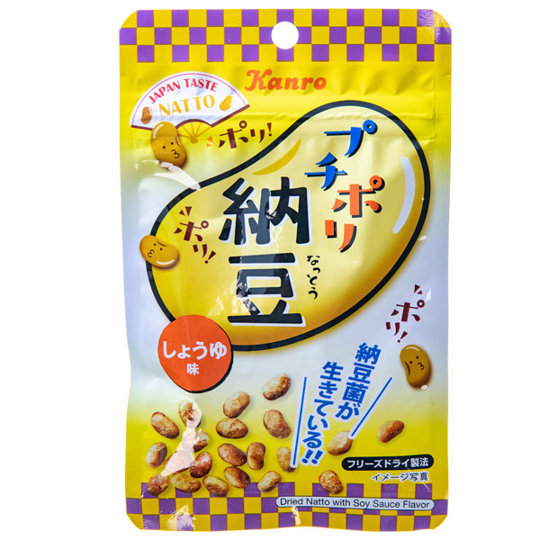 14347 kanro natto fermented soy bean snack soy sauce flavour