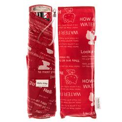 14360 sanrio hello kitty umbrella and case   red