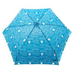 14360 sanrio hello kitty umbrella   blue  open