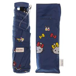 14361 sanrio hello kitty and mimmy umbrella   dark blue