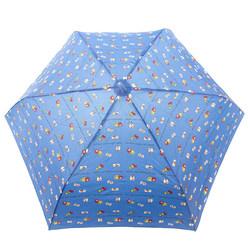 14361 sanrio hello kitty and mimmy umbrella  blue  open