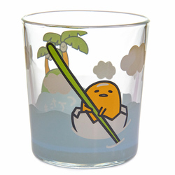 14392 gudetama drinking glass   island scenes