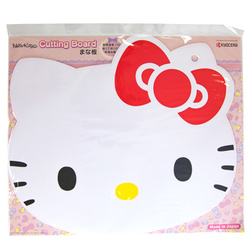 14389 sanrio hello kitty head shaped plastic cutting board